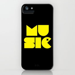 Music Man Rave Quote iPhone Case