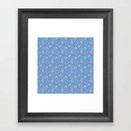 Winter Floral Framed Art Print