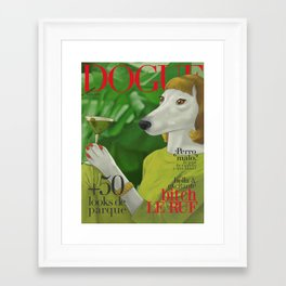 Dogue, July of 61 Framed Art Print