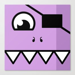 Monsters⁴ : Purple Canvas Print