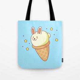 Bunny-lla Ice Cream Tote Bag