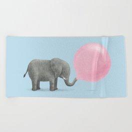 Jumbo Bubble Gum  Beach Towel