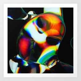 Dispersion Art Print