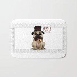 Mr. Puggy Bath Mat