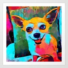 Chihuahua 3 Art Print