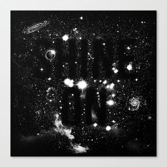 Shine On Canvas Print