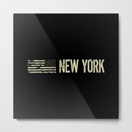 Black Flag: New York Metal Print