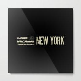 Black Flag: New York Metal Print