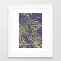 fern Framed Art Prints featuring Fern by 83 Oranges™