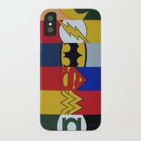 justice league iPhone & iPod Cases featuring Justice Logo's by iankingart