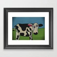 Uncooked Beef. Framed Art Print