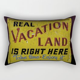 Staycation Rectangular Pillow