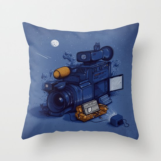 Movie Break Throw Pillow