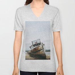 Point Reyes Boat Unisex V-Neck