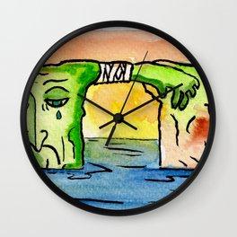 """#mymalta """"Ailing dwejra"""" Wall Clock"""