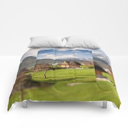village in Tatra Country Comforters