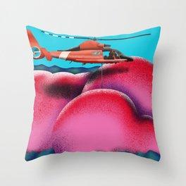 Coast Guard Hams Throw Pillow