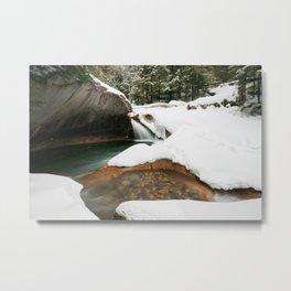 Lonesome Lake Trail Metal Print
