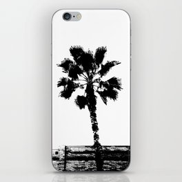 Black & White Palm iPhone Skin
