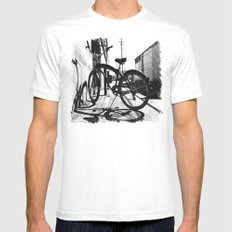 Urban cruiser Mens Fitted Tee White SMALL