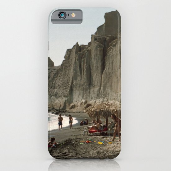 Eros Beach, Santorini iPhone & iPod Case