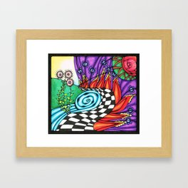 Where's Alice Framed Art Print