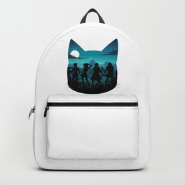 Happy Silhouette Backpack