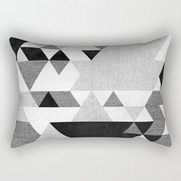 The Triangles Rectangular Pillow