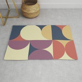 Abstract Geometric Artwork 62 Rug