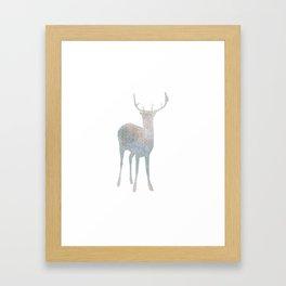 Holiday deer - Holidaze Framed Art Print