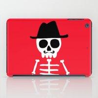 skeletor iPad Cases featuring El Skeletor by David Allart