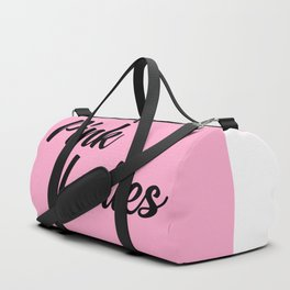 pink ladies music quote Duffle Bag