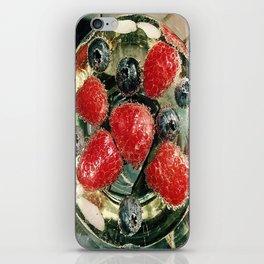 Bubbles N Berries iPhone Skin