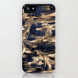Abstract oil painting prosperity iPhone Case