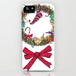 Christmas Crown II iPhone Case