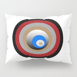 Composition made by circles Pillow Sham