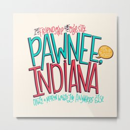 Pawnee, Indiana Metal Print