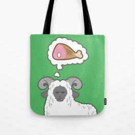 I Dream of Meat Tote Bag
