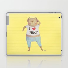 Music Bear Laptop & iPad Skin