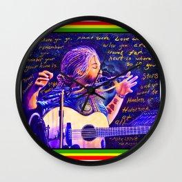 Mike Love ~ No Regrets <3 Wall Clock