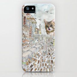 Escape from Japan iPhone Case