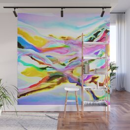 Coastal Color Abstract Wall Mural
