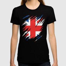 Torn Flag UK T-shirt