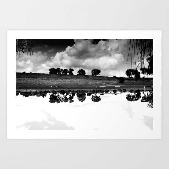 what is reflection? Art Print