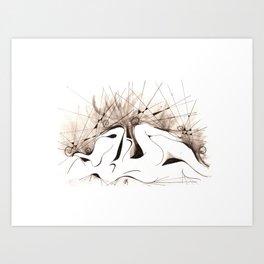 SIMBIOSI Art Print