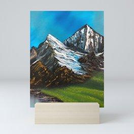 Big Mountains Mini Art Print