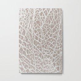 Desert Frost Metal Print