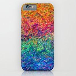 Fluid Colors G249 iPhone Case