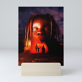 Travis Scot Astroworld Dark Mini Art Print