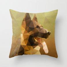 The German Shepherd Throw Pillow